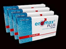 4 doboz eromaxplus potencianövelő tabletta