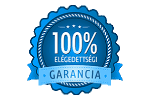 100 elegedettsegi garancia